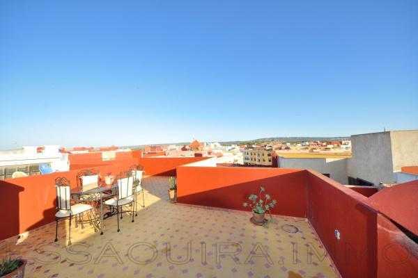 Appartement avec doubles terrasses