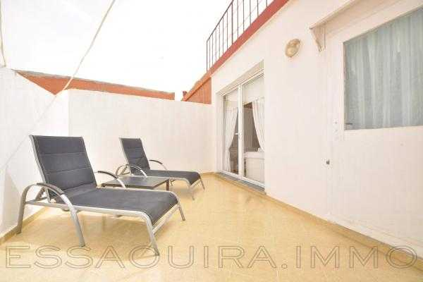 Lumineux appartement avec terrasse